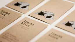 liachtblick Fotokurse Visitenkarten