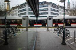 St.Galler Bus Spiegelung