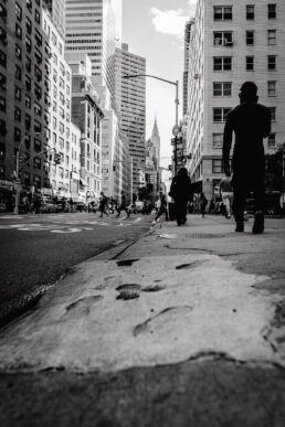 NYC footprints